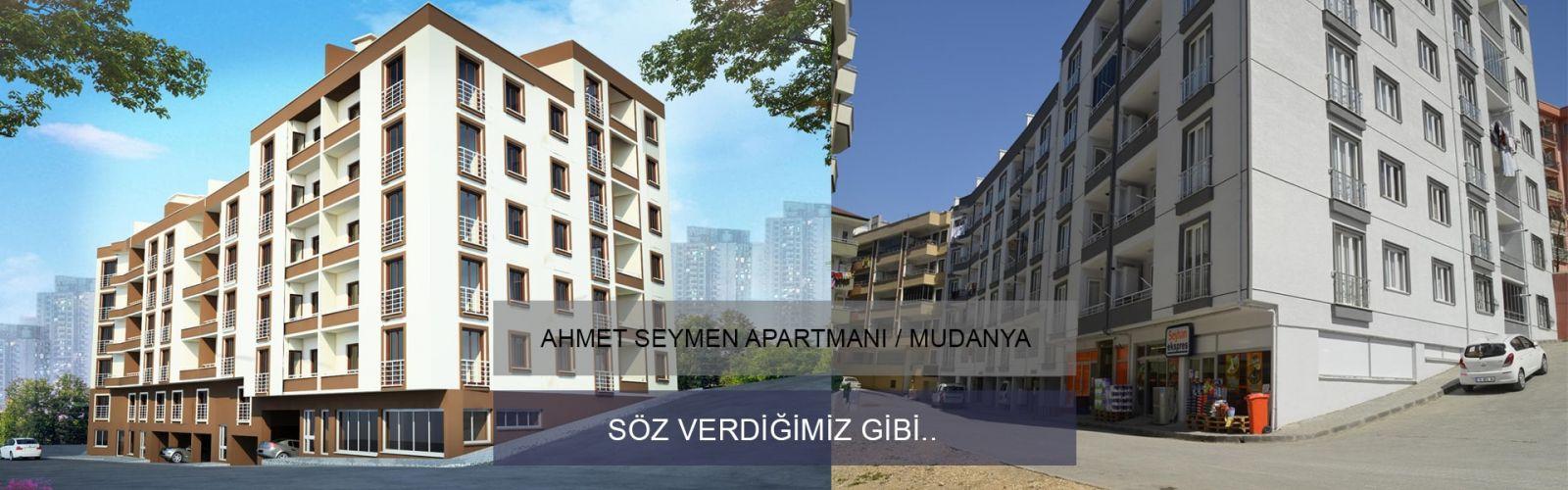 Ahmet Seymen Apartmanı İnşaatı